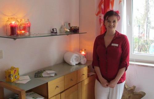 Evelyne Fleischer vom Kosmetikinstitut Living