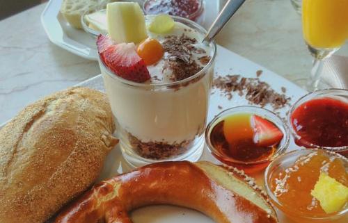 Veganes Frühstück im Rieberg