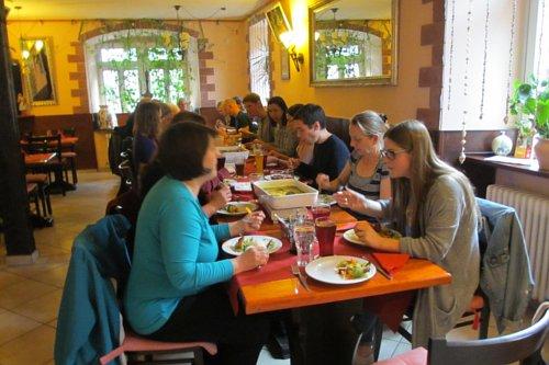 Veggie-Treffen im Shalimar Ettlingen